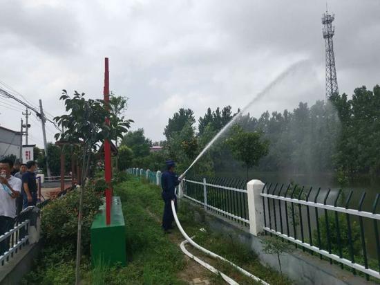 汝南县消防网格化管理达标创建试点工作现场会在罗店镇召开