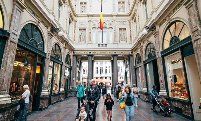 好消息!比利时布鲁塞尔游客逐渐增多