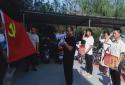 河南邓州市湍河管护联合党工委开展庆祝建党主题活动