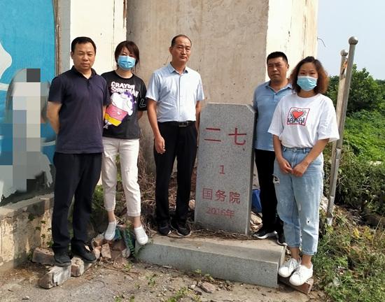 郑州二七区与中原区开展行政区域界线联合检查