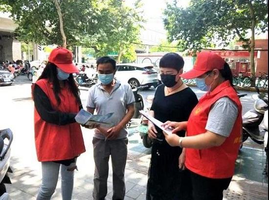 郑州市管城区委统战部开展涉侨法律法规宣传活动