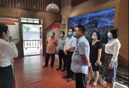 洛阳市新的社会阶层人士庆祝建党99周年