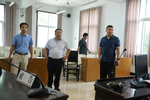 邓州法院杨俊华院长到基层法庭调研指导工作