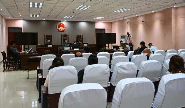 南阳高新区法院首次公开审理知识产权案件