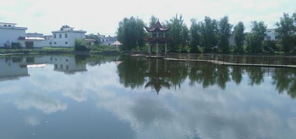 河南邓州市2000余荒芜坑塘变新颜
