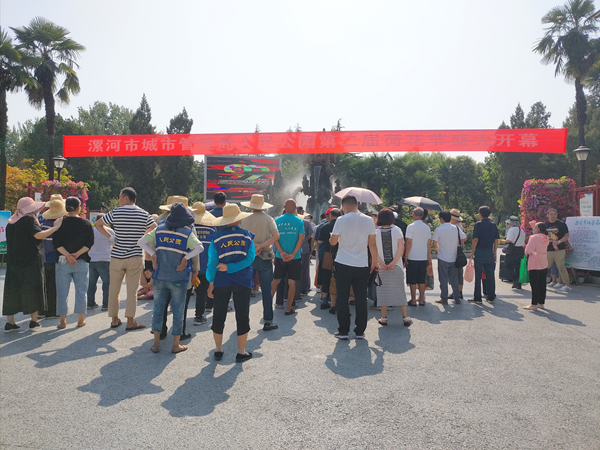 20亩荷花盛开香飘醉人!漯河市人民公园荷花文化节开幕