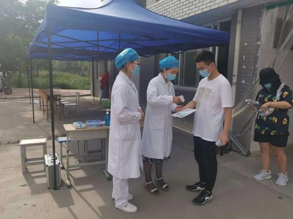 河南邓州市卫健系统积极助力高考疫情防控工作
