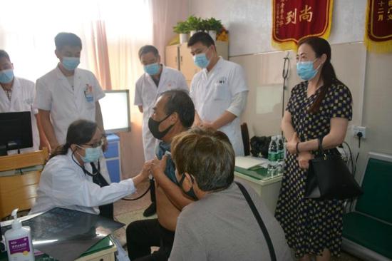 驻马店市中心医院专家走基层送健康活动  在汝南县第二人民医院举行