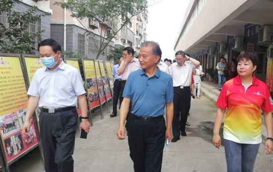 河南省人大常委会执法检查组莅临天中义工联合会进行调研