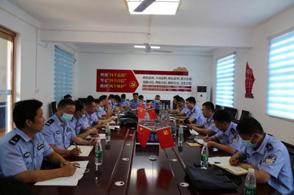社旗县公安局组织开展派出所基层基础工作观摩评比活动