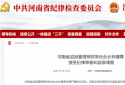 河南省监狱管理局财务处处长林建青 接受纪律审查和监察调查