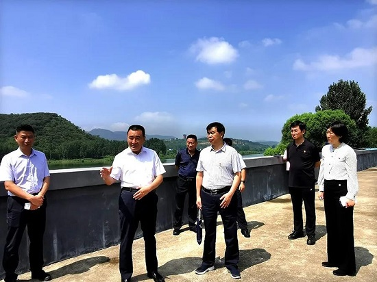 杨福平到登封市调研防汛抗旱与河长制工作