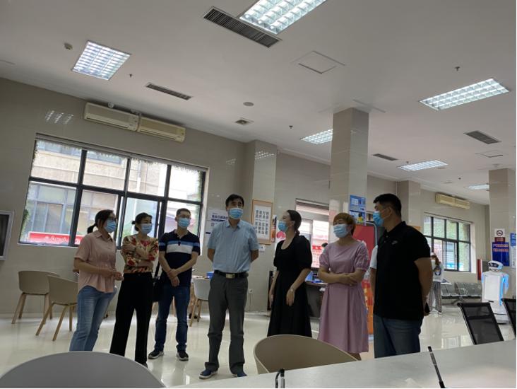郑州市教育局调研管城区教师资格认定工作