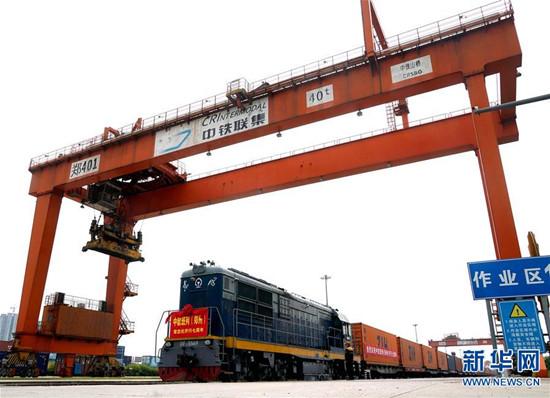 中欧班列(郑州)开行满7周年 累计货值138.83亿美元