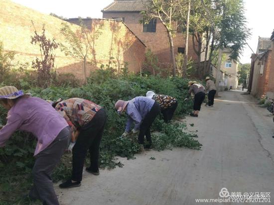 创建国家卫生城市,义马市东区街道在行动!