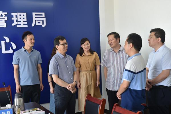 河南邓州市领导调研督导防汛工作