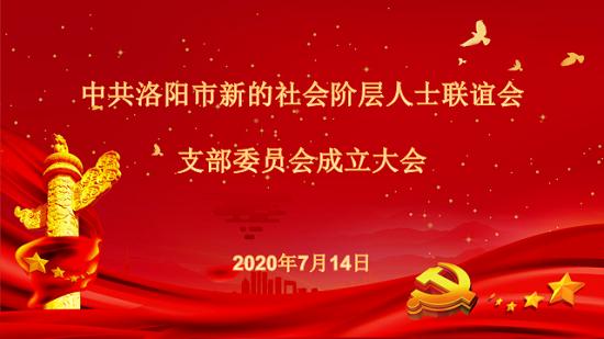 中共洛阳市新的社会阶层人士联谊会支部委员会成立