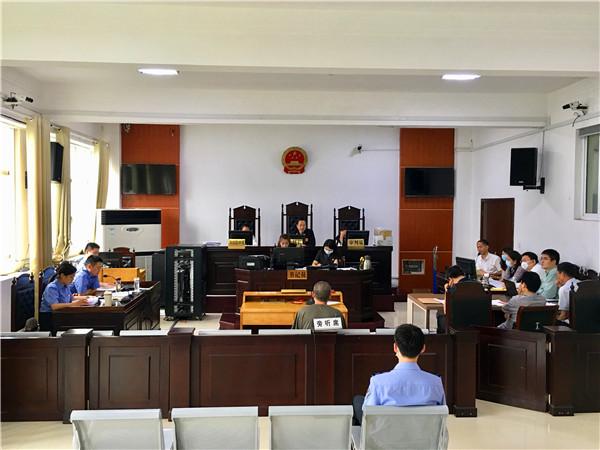 三天四案 南阳市卧龙区法院集中开庭审理涉黑涉恶案件