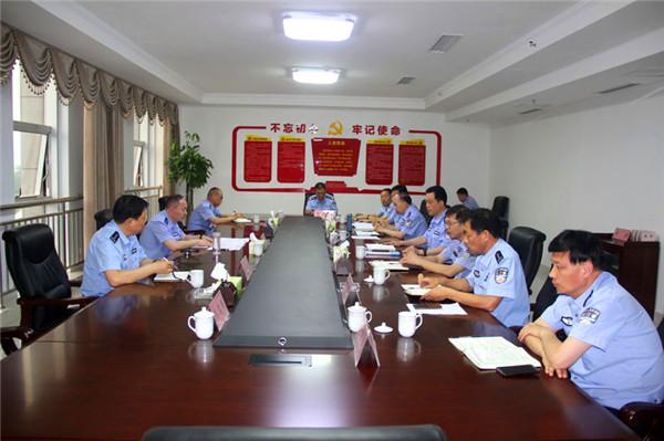 新野县公安局召开党委会专题研究、部署近期防汛工作