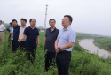 河南邓州市委常委、常务副市长顾理督导刁河防汛