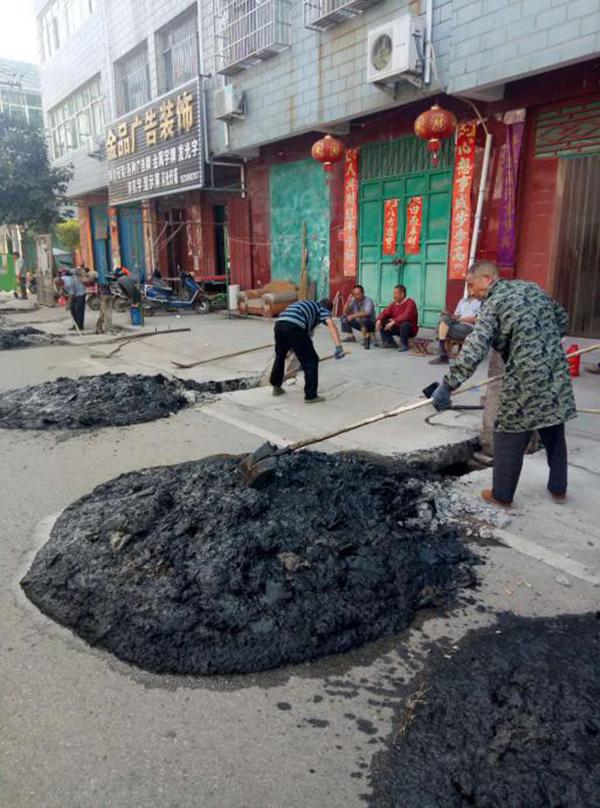 邓州市加强城区防汛隐患整改忙