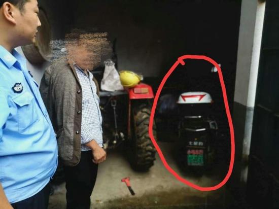 汝南县公安局老君庙派出所在大走访期间抓获一名现行盗窃犯罪嫌疑人