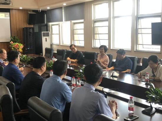 郑州市市场监管局调研指导惠济区学校食品安全标准化建设