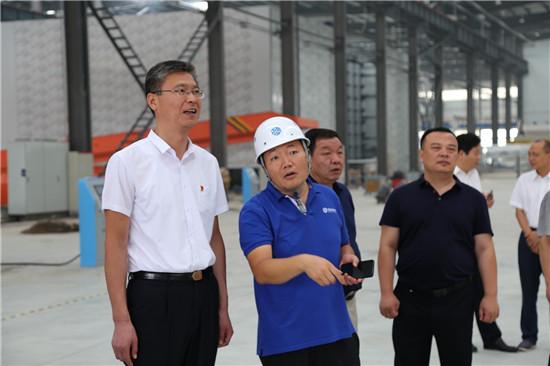 周口市委统战部长赵锡昌到川汇区调研工商联工作和民营企业发展情况