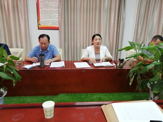 汝南县残联召开廉政建设推进会