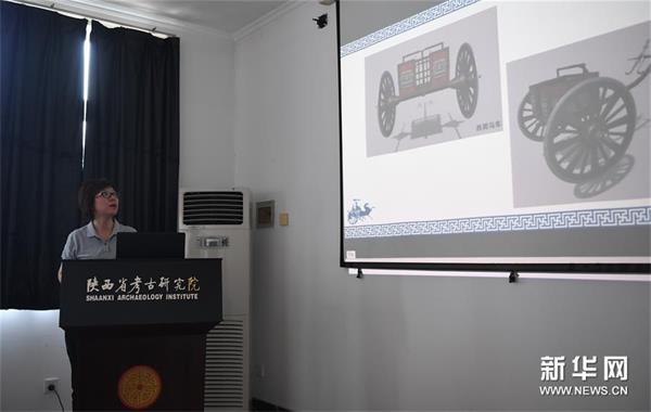 历时3年 陕西保护复原2800年前西周青铜轮牙马车