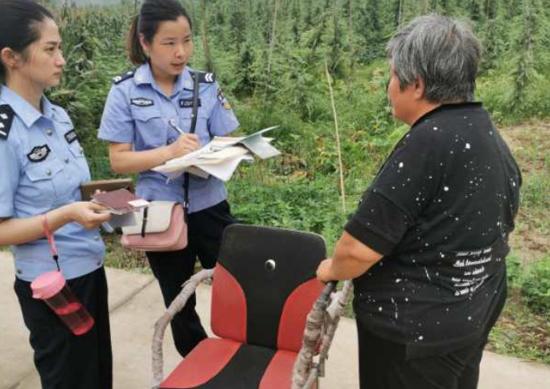 汝南县公安局三里店派出所积极开展大走访活动