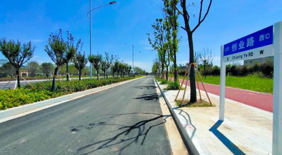 高标准谋划 高起点建设 汝南最靓丽的城市道路