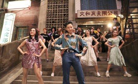 李斯丹妮和王智一起跳复古disco版无价之姐!