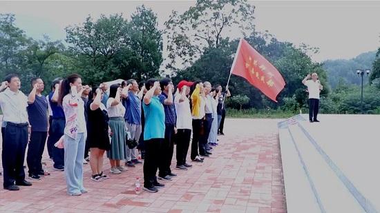 郑州市委统战部赴荥阳开展爱国主义现场教学活动