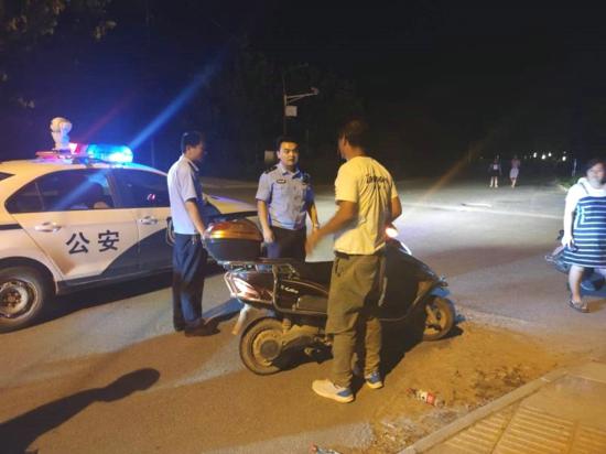 汝南县警方走访期间连续救助两名醉酒男子获好评