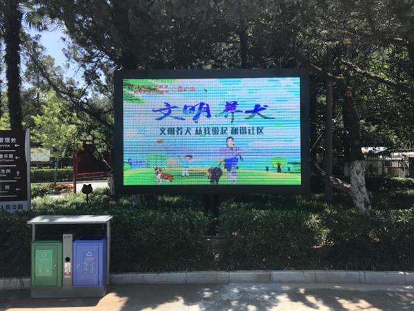 """漯河人民公园""""景中景""""折射出一面""""镜子"""""""