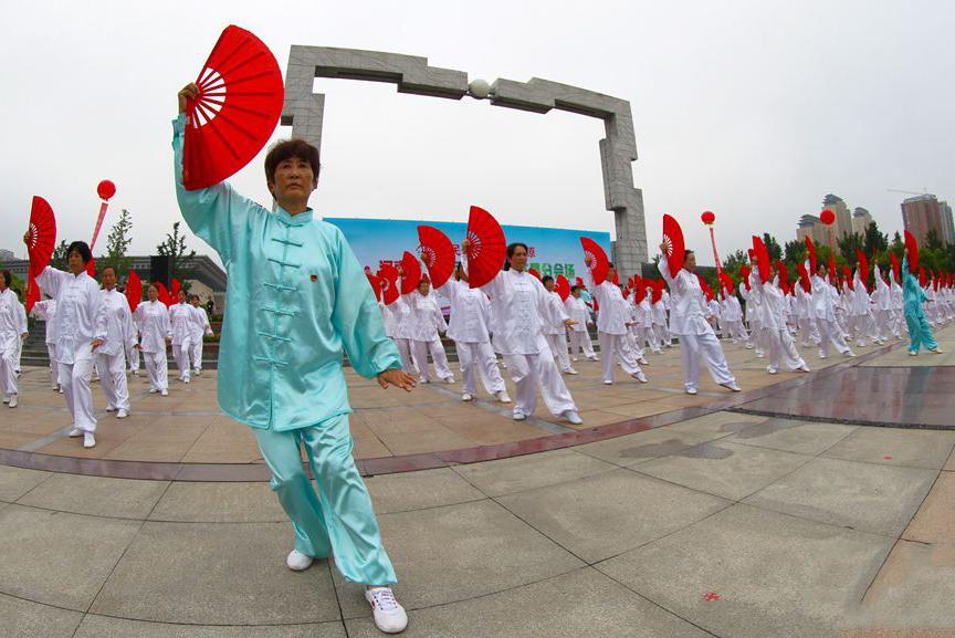 """许昌举行""""全民健身 健康中原""""活动"""