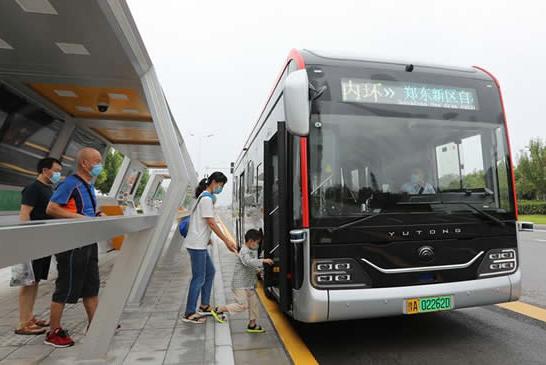 郑州:自动驾驶公交开启试运行