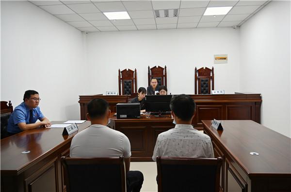 南阳市高新区法院首次审理危险驾驶案件 适用速裁15分钟结两案