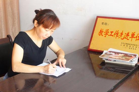 汝南县人大代表孙晓芬:教书育人润物无声