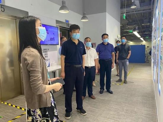 商丘市委网信办到北京字节跳动科技有限公司学习考察