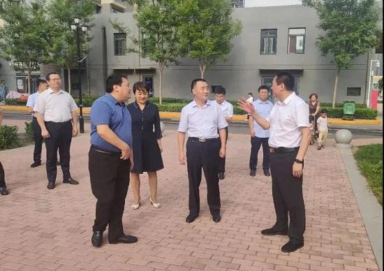 杨福平到中牟县调研汽车产业园区企业