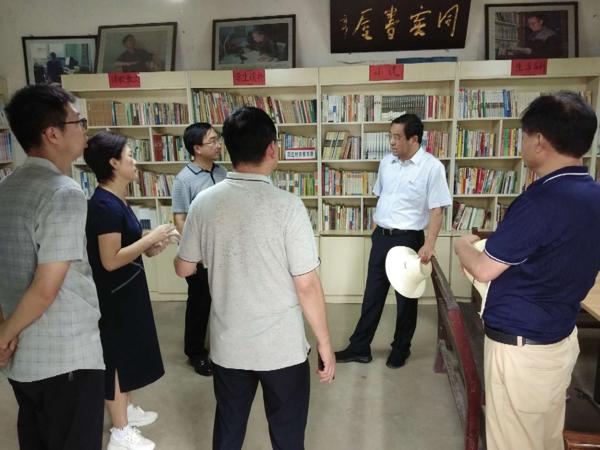 """社旗县委书记余广东到大冯营镇调研""""志智双扶""""工作"""