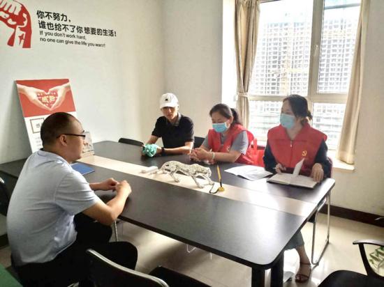郑州南阳路街道走访辖区非公企业 推动非公企业党建从有形覆盖向有效覆盖转变