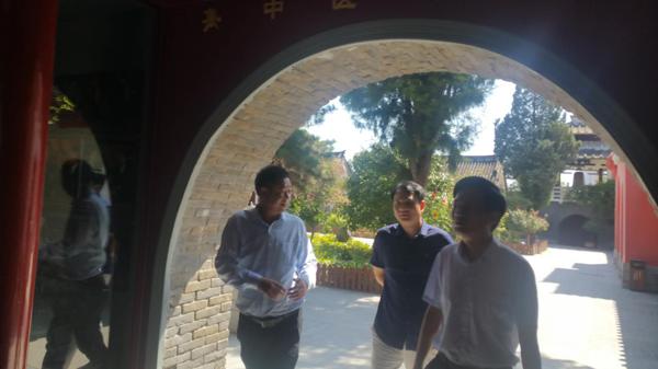 南阳市宛城区委书记刘中青实地督导张仲景健康文化园项目