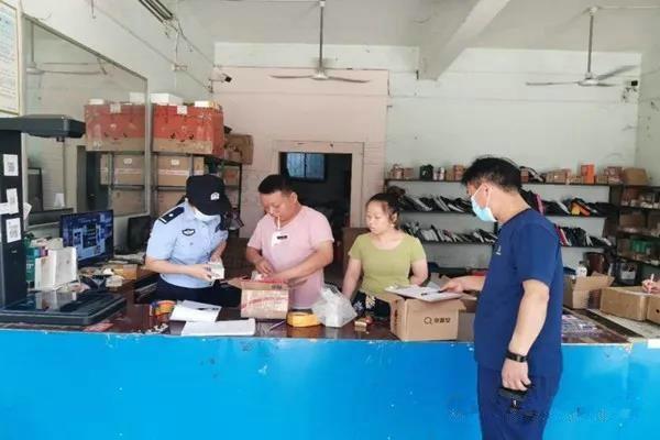 南阳消防救援支队集中开展快递行业消防安全检查