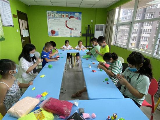 """南阳路街道党群服务中心我是小能""""手""""儿童创意手工小组活动圆满结束"""