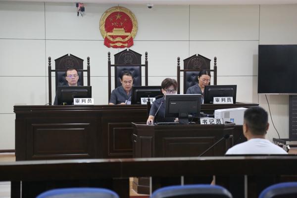 镇平县法院:院长担任审判长 公开审理刑事案件