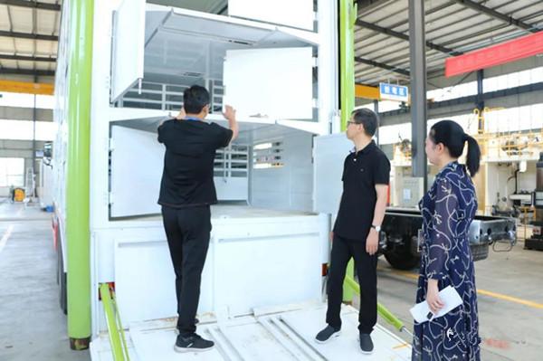 邓州市委书记金浩寄语凯达环境科技有限公司:重科研拓市场走差异化经营之路