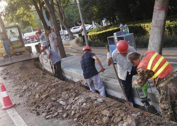 """漯河市区多个易积水点改造完毕 为防汛排涝撑起安全""""防护网"""""""